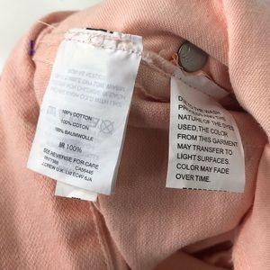 Madewell Jeans - NWT Madewell High-Rise Light Pink Raw Hem Jeans